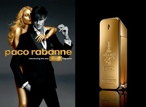 paco rabanne 1 million banner