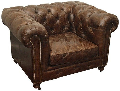 stary fotel chesterfield