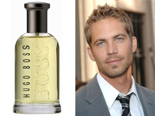 Boss Bottled jako Paul Walker