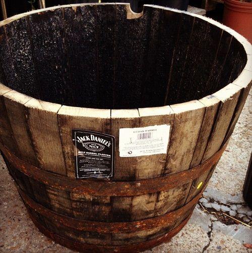 beczka na whisky od środka