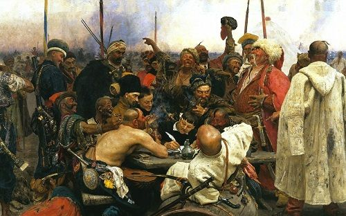 obozujący kozacy