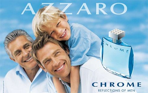 reklama Azzaro - Chrome EdT