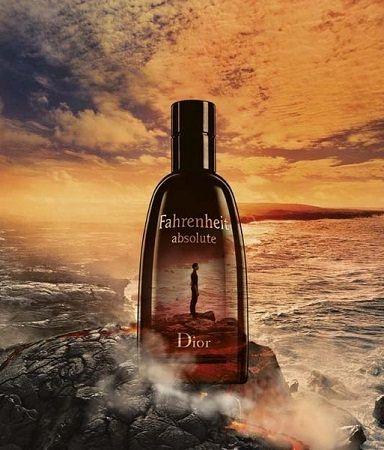 reklama Dior - Fahrenheit Absolute