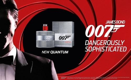 reklama James Bond - 007 Quantum EdT