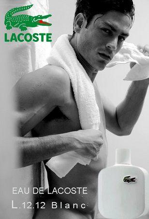 reklama Lacoste L12.12 - Blanc