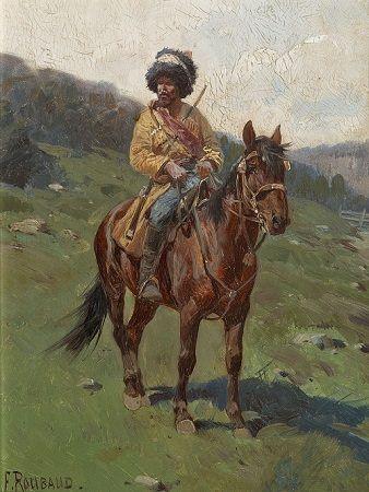 rosyjski jeździec