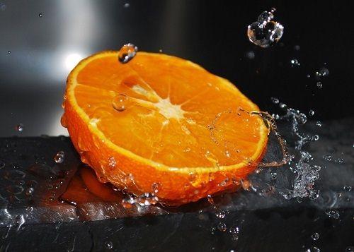 soczysta pomarańcza