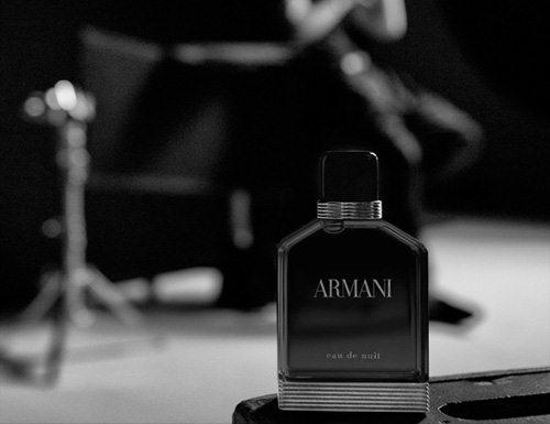 reklama Giorgio Armani - Eau de Nuit pour Homme