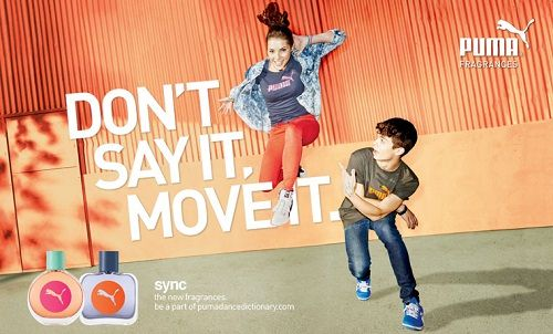 reklama Puma - Sync
