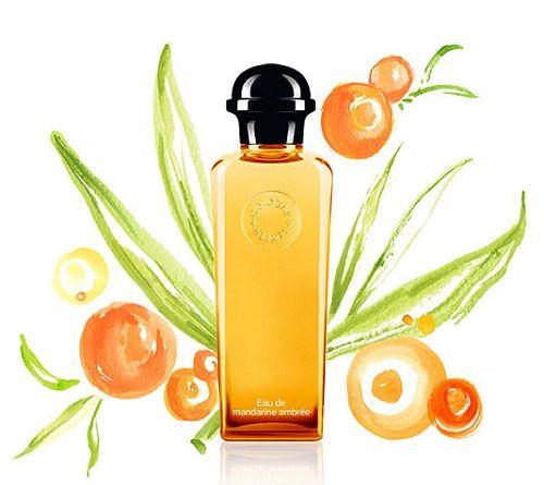 reklama Hermes - Eau de Mandarine Ambree