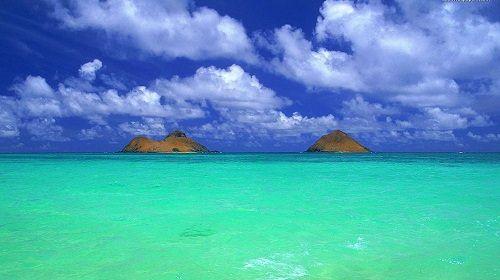 zielone morze