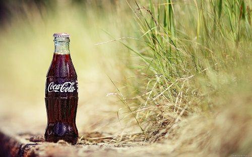 butelka Coca Coli