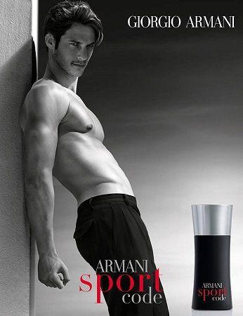 reklama Armani - Code Sport