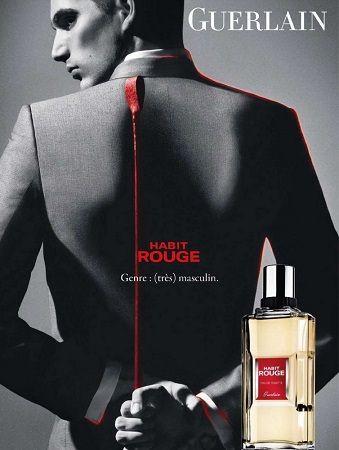 Guerlain Habit Rouge reklama