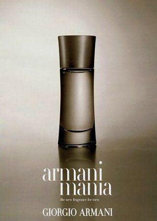 reklama Giorgio Armani - Mania