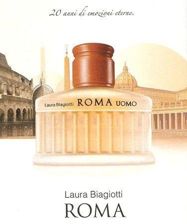 reklama Laura Biagiotti - Roma per Uomo