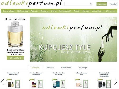 odlewki perfum