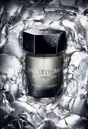 reklama Yves Saint Laurent - La Nuit de l`Homme Frozen Cologne