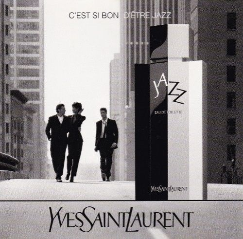 stara reklama Yves Saint Laurent - Jazz