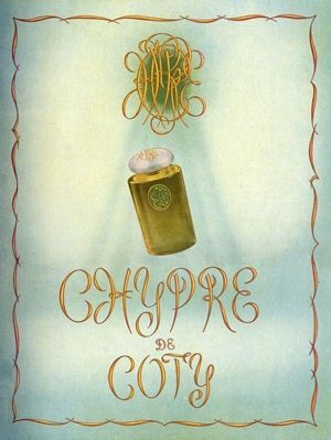 Chypre Coty 1960