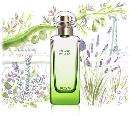 Hermes - Un Jardin Sur Le Toit reklama