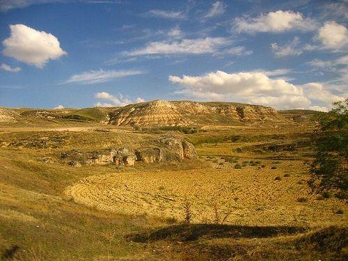 krajobraz w Hiszpanii