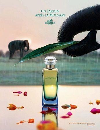 reklama Hermes Un Jardin - Apres la Mousson
