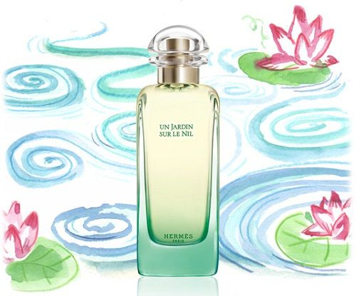 reklama Hermes - Un Jardin Sur Le Nil