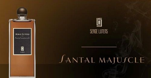 reklama Serge Lutens - Santal Majuscule