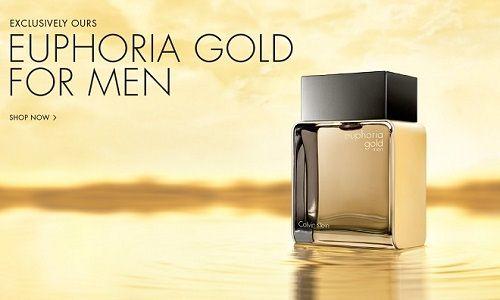 Calvin Klein - Euphoria Gold Men reklama