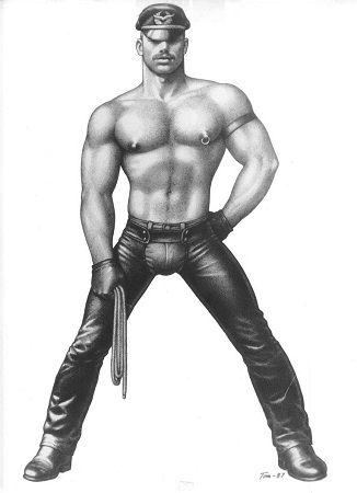 grafika autorstwa Tom of Finland