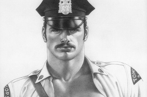 Tom of Finland grafika