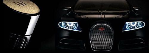 Bugatti Pure Black reklama