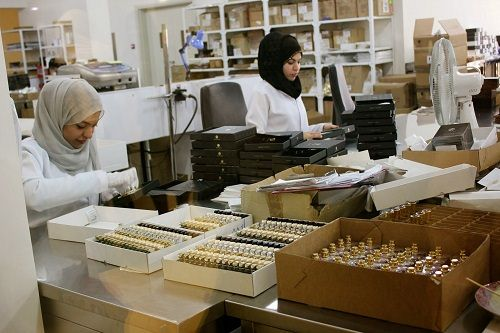 konfekcjonowanie flakonów perfum