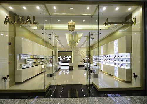 salon firmowy Ajmal w Dubaju