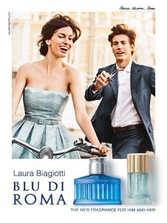 Laura Biagiotti - Blu di Roma Uomo reklama