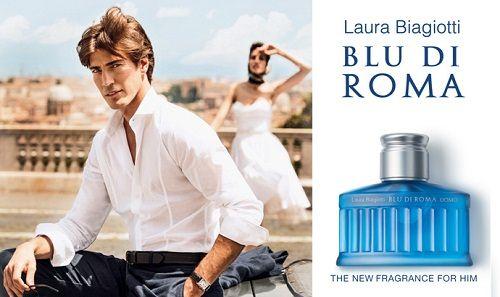 reklama Laura Biagiotti - Blu di Roma Uomo