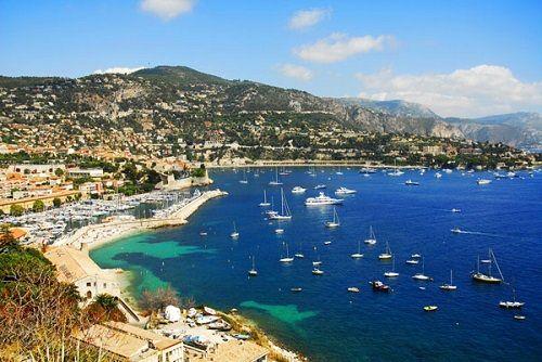 wybrzeże Cap d'Antibes
