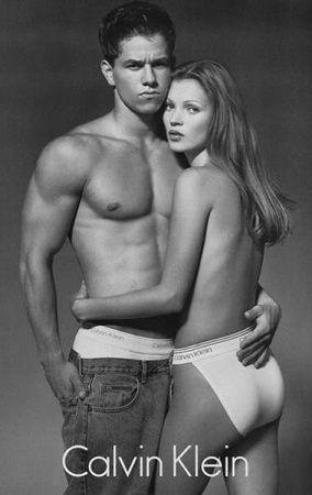 Calvin Klein Marky Mark i Kate Moss