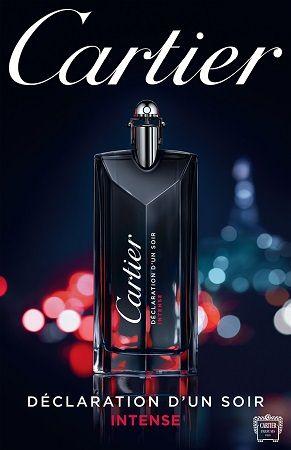 Cartier - Declaration d'Un Soir Intense reklama