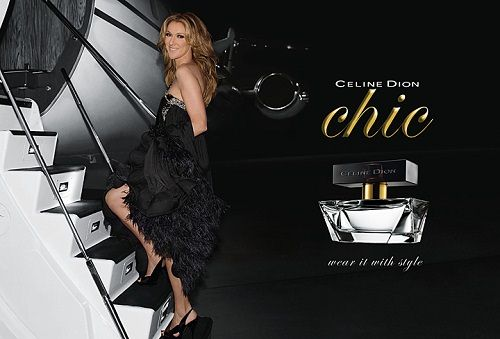 Celine Dion fragrance