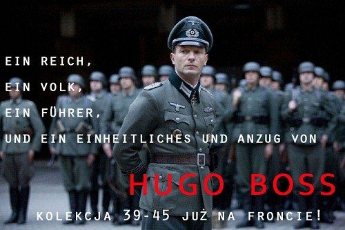 hugo boss anzug pirath commercial