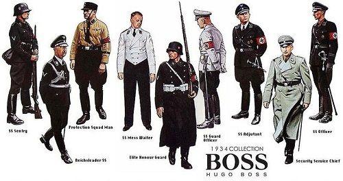 mundury Hugo Boss