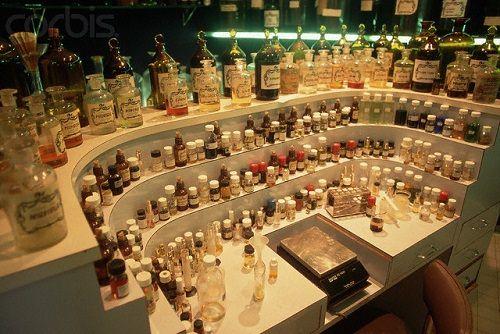 organy perfumeryjne i waga
