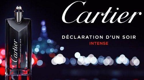 reklama Cartier - Declaration d'Un Soir Intense