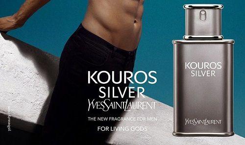 reklama Yves Saint Laurent - Kouros Silver