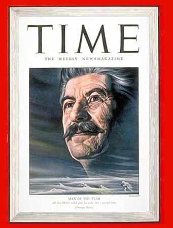 Stalin - Time Magazine Cover Man of the Yaer