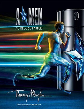 Thierry Mugler Pure Shot reklama