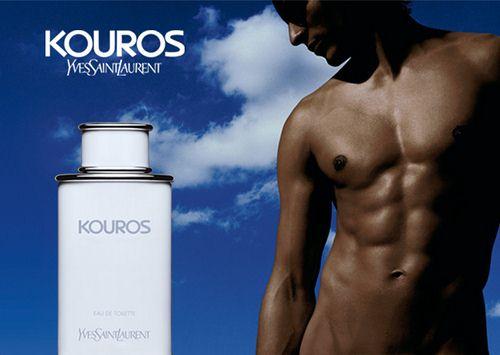 Yves Saint Laurent - Kouros reklama