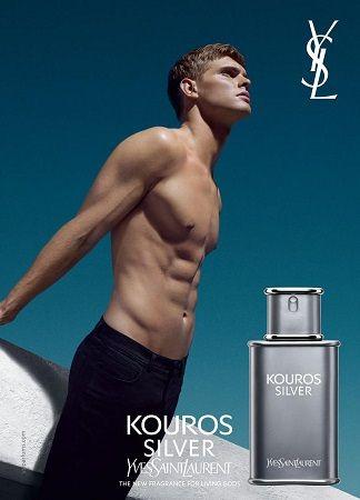 Yves Saint Laurent - Kouros Silver reklama